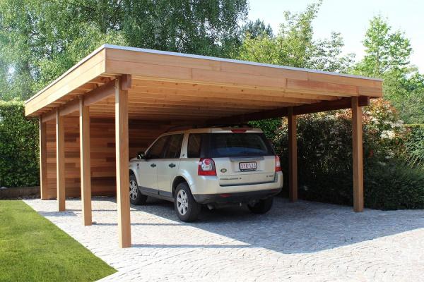 Een carport voor elk type woning