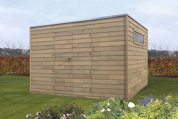Les abris de jardin modernes de Woodstar | Houten tuinhuizen | Woodstar