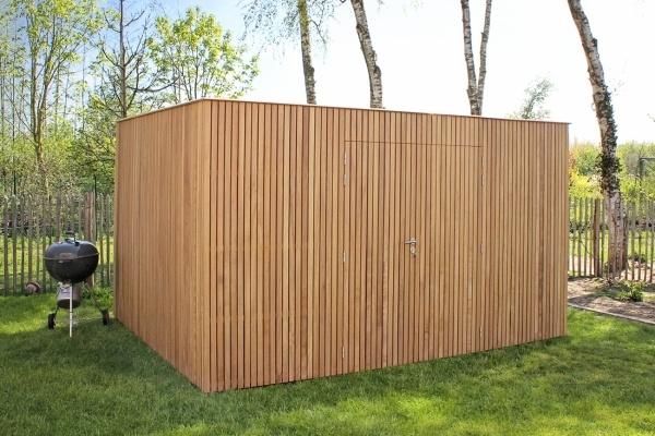 Firenze modern houten tuinhuis | moderne houten tuinhuizen | West-Vaanderen