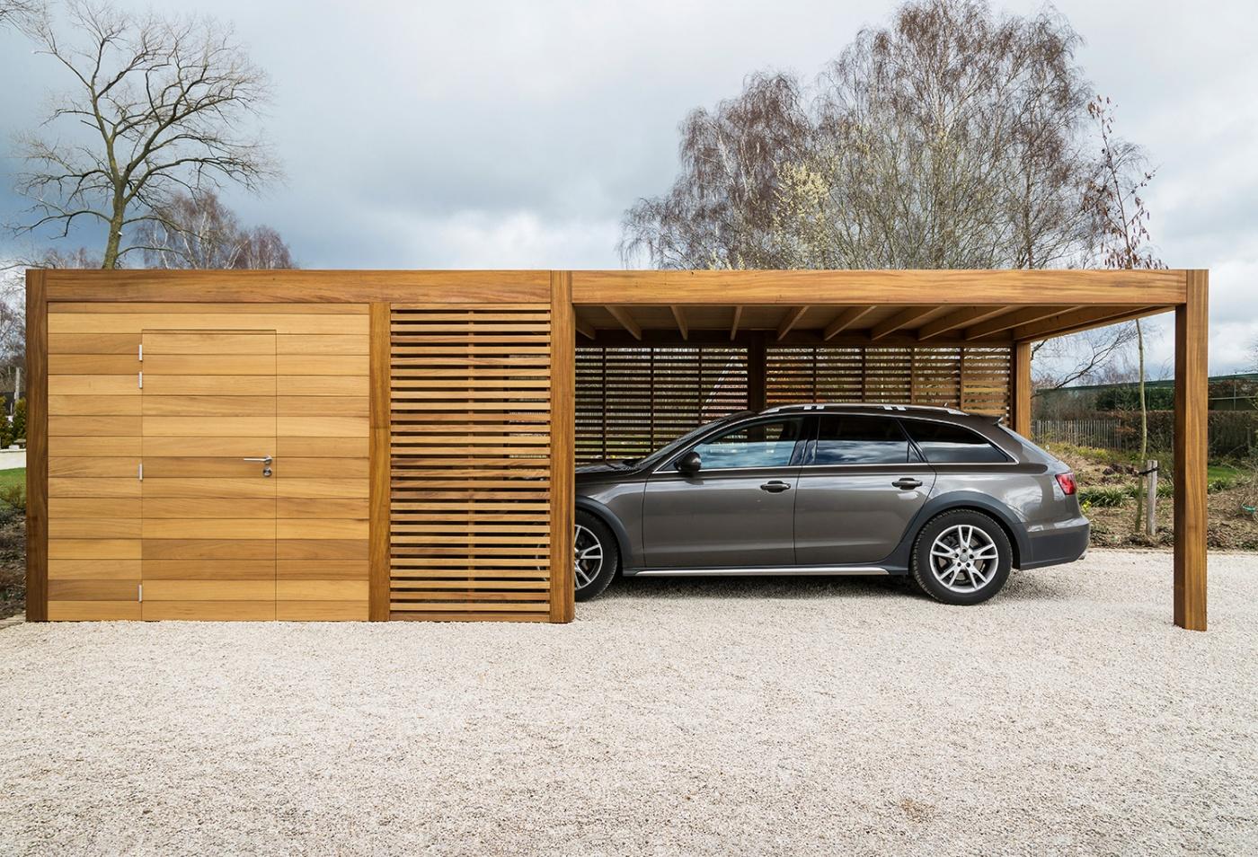 Carports & garages plaatsen | carports & garages offerte | West-Vlaanderen