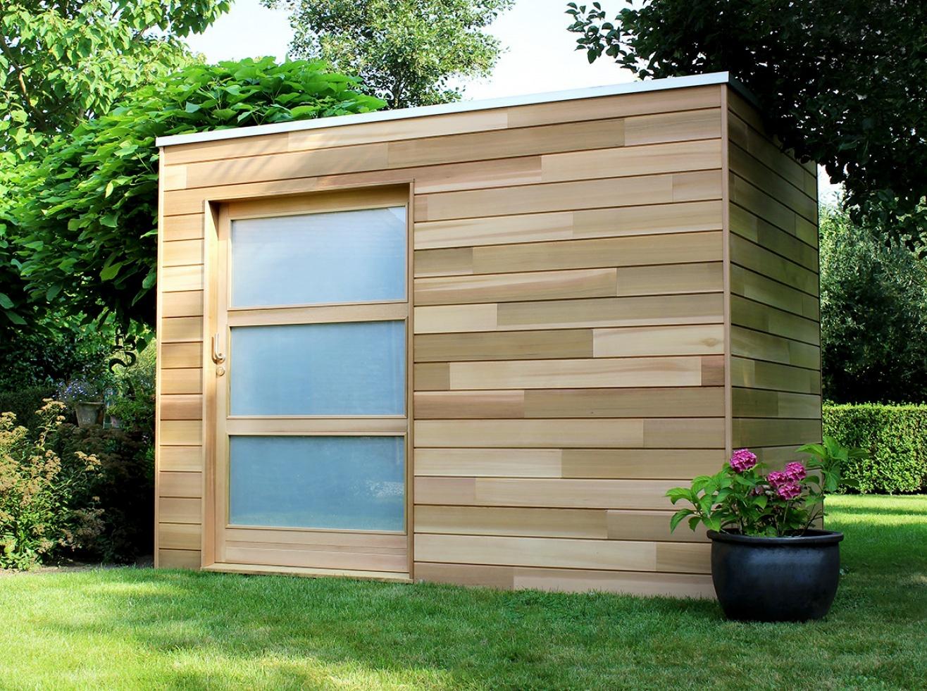 Cubeco   modern tuinhuis   moderne tuinhuizen   West-Vlaanderen