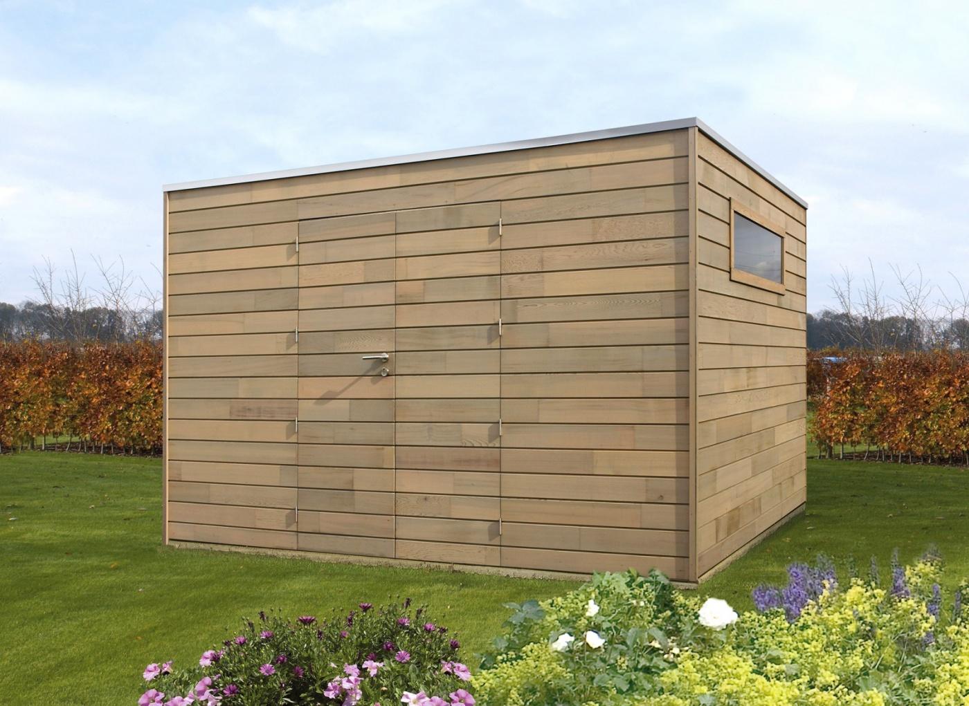Cubic modern tuinhuis | moderne tuinhuizen | West-Vlaanderen