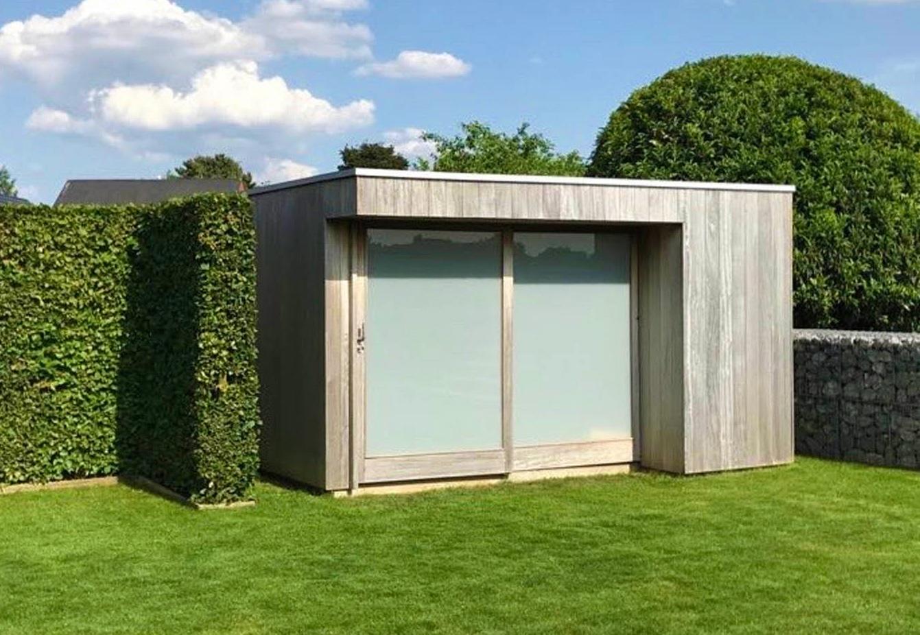 Linear | modern tuinhuis | moderne tuinhuizen | West-Vlaanderen