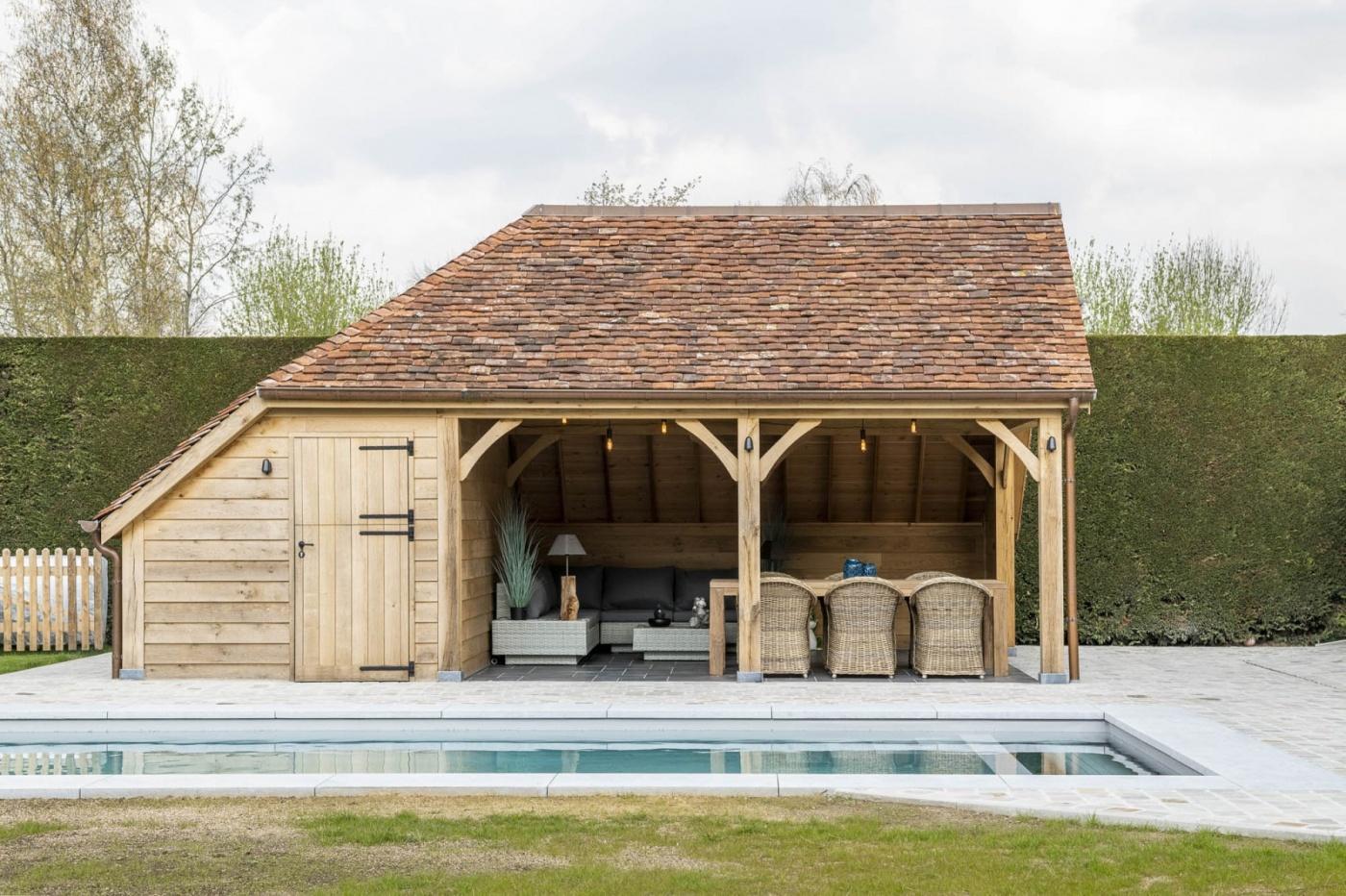 Normandie | klassieke poolhouse | klassieke poolhouses | West-Vlaanderen
