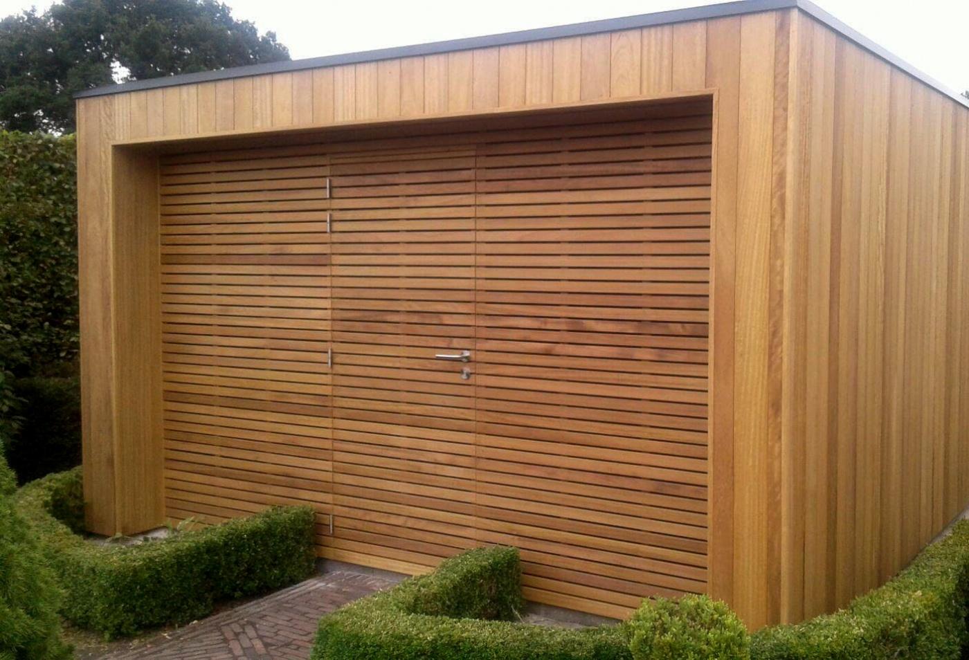 Rimini modern houten tuinhuis | moderne houten tuinbergingen