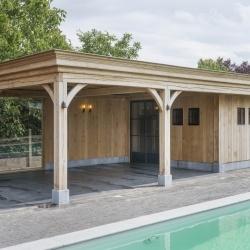 Maatwerk | Landelijke Tuinhuizen, Poolhouses, Engelse schuurtjes, Carports & garages | West-Vlaanderen