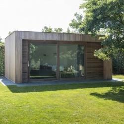 Stricta | modern tuinhuis | moderne tuinhuizen | West-Vlaanderen